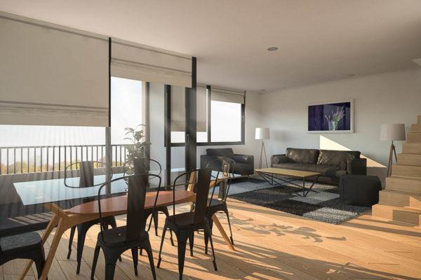 casa inteligente domótica chile - Real Smart Garcia Pica Living 2