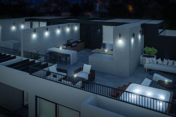casa inteligente domótica chile - Real Smart Garcia Pica Terraza