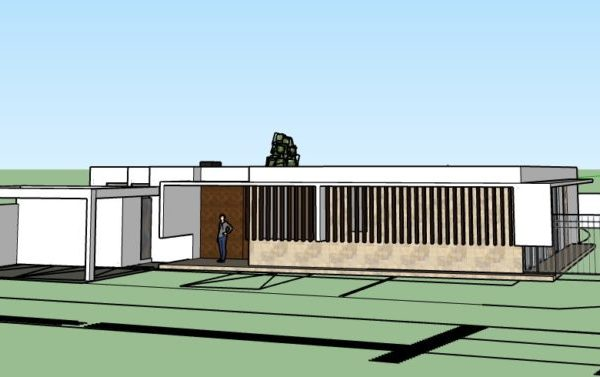 casa inteligente domótica chile - Real Smart Casa chicureo Frontal