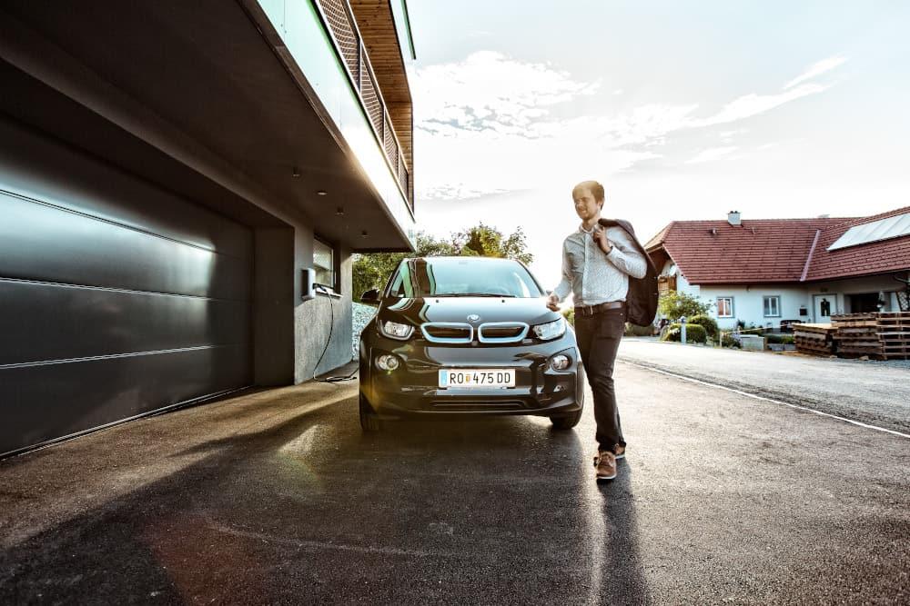 Cargador BMW Hogar Inteligente
